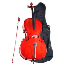 Cello 4/4 Höfner Alfred S Con Arco Y Estuche As-045-c4/4