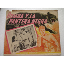 Johnny Sheffield, Bomba Y La Pantera Negra, Cartel De Cine