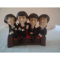 Figura Resina Sillon The Beatles