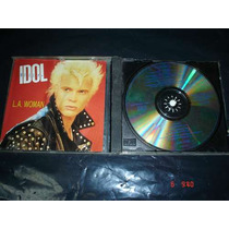 Billy Idol - Cd Single - L.a. Woman Pyf