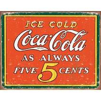 Poster Lamina Anuncio Cartel Antiguo Coca Cola Retro Vinta