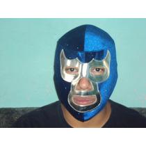 Mascara De Luchador Blue Demon Jr Semiprofesional P/adulto