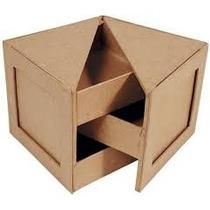 Caja Joyero De Mader