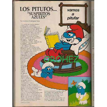 Los Pitufos En Revista Claudia De Noviembre 1982