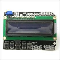 Lcd 16x2 Con Botones O Keypad Para Arduino Hd44780