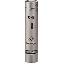 Par Microfono Condensador Behringer C-2 Envio Inmediato
