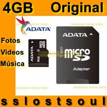 4gb Adata Micro Sdhc Original Nueva En Blister Envío Express