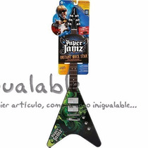Guitarra Electrica Para Niños Color Verde Wowwee
