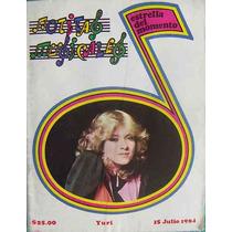 Revista Notitas Musicales ,yuri En Portada 1984