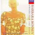 Barbara Bonney Richard Strauss Lieder Cd Soprano Opera Op4
