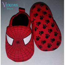 Zapatos Bebe Niño Spiderman Hombre Araña Zapatito