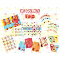 Kit Imprimible De Elmo