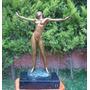 Escultura Mujer Desnuda Despertando El Despertar Op4
