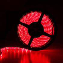 Tira Led Flexible Interior 5 Metros Luz Roja Jwj B42588s
