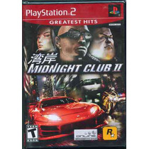 Ps2 Midnight Club 2 Nuevo Envio Gratis