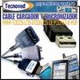 Cable Cargador Y Sincronizador Ipaq, Palm, Axim, Clie, Psp