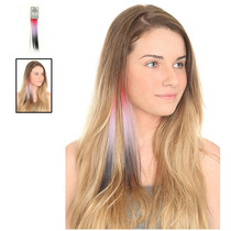 Hot Topic Extensiones De Cabello Color Red Purple Black