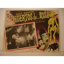 Resortes, Muertos De Risa , Cartel De Cine