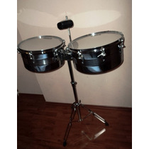 Timbales 13 14 Marca Peace Drums Percusion