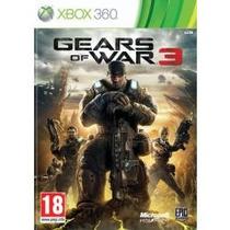 Juego Gears Of War 3 Xbox 360 Nuevo De Fabrica Blakhelmet