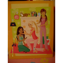 Barbie Set De 3 Padrisimas Carpetas