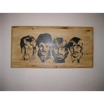 Beatles Pintura Cuadro Oleo Pop Art