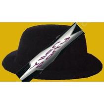 3 Sombreros Bombín Terciopelo Económico Negro