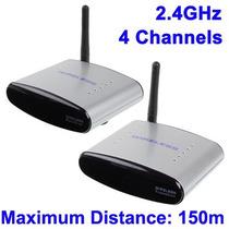 Transmisor Receptor Inalambrico Audio Y Video 2.4ghz 150mts