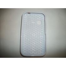 Protector Tpu Para Samsung Chat 2 S5270 Color Blanco!!!