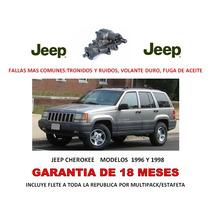 Caja Direccion Hidraulica P/ Bomba Jeep Cherokee 96-98 Dvn