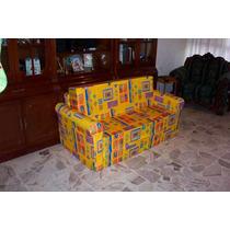 Sofa Cama Matrimonial Adulto Novedoso En Diferentes Colores