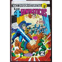 Hostorieta,los 4 Fantasticos N°5 Macc Division Historietas