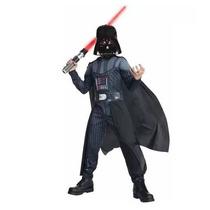 Disfraz Talla 10 A 12 Años Darth Vader Star Wars Niño