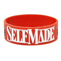 Hot Topic Muñequera Pulsera Rick Ross Self Made Rubber Brace