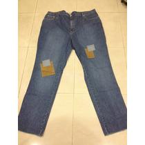 Jeans Modelo Parches Hombre Tallas Super Extras Hasta La 64