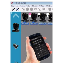 Interface Usb Dmx 512 Free Styler, Android & Iphone.