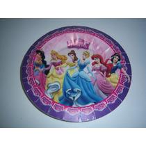 Afinpa Platos Vasos Globos Dulceros Fiesta Princesas Disney