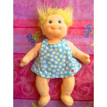 Ty Beanie Babies Peluche De Bebita Con Vestido