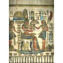 Papiro Egipcio Dios Gato Bastet Con Nefe Nuevo Envio Gratis