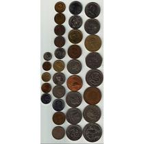 33 Monedas Antiguas Mexicanas, Impecables (por Lote) Op4