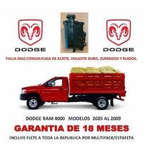 Depósito Bomba Licuadora Direccion Hidraulica Dodge Ram Au1