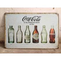 Lamina Placa Poster Coca Cola Decorativa Vintage Retro Bar