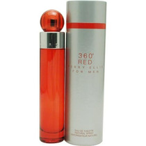 Perfume Original 360 Grados Red Caballero 200 Ml