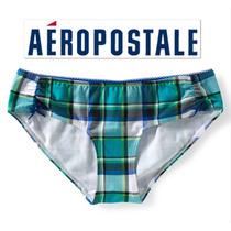 Envio Bikini Calzon Aeropostale S Chico Azul Verde Cuadros
