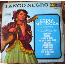 Bolero, Lydia Mendoza Y Su Guitarra,tango Negro, Lp 12´,