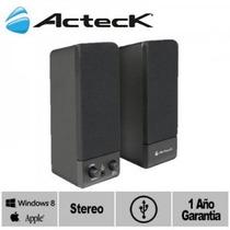 Sistema De Audio Multimedia 2.0 Usb Acteck Ax-2550