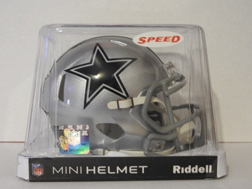 4d72ff05df9b4 Nfl Mini Casco Speed Dallas Cowboys Riddell