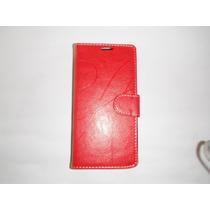 Funda Tipo Cartera Lg G Pro Lite D680 Color Rojo!!!