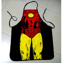 Mandil De Chef, Diseño Iron Man, Iron Man, Avengers. Heróes.