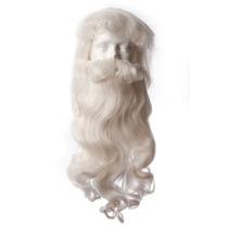 Disfraza Santa Claus Con Peluca, Bigote Barba, Oferta!!